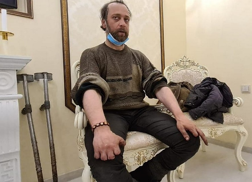Алексей поселил Виорела у себя (Фото: Алексей Ушаков).