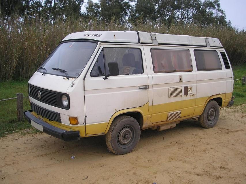 """Микроавтобус """"Фольксваген"""", на котором была похищена девочка Фото: GLOBAL LOOK PRESS"""