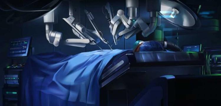 А это - обыкновенная сельская больница будущего. Самую сложную операцию сделает робот Да Винчи, которым через спутник сможет управлять специалист из любой точки планеты. Фото: Скриншот видео.