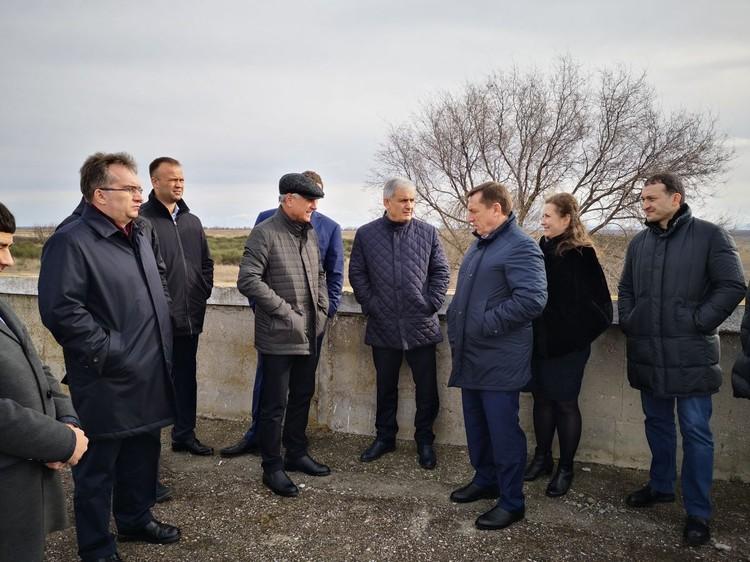Выездное совещание на Межгорном водохранилище. 30 января 2020 года.
