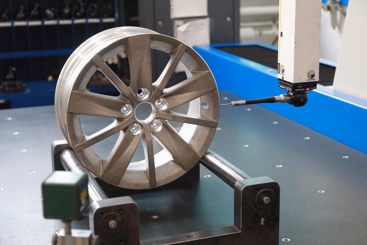 Настоящими колесами заготовки становятся в цехе механической обработки
