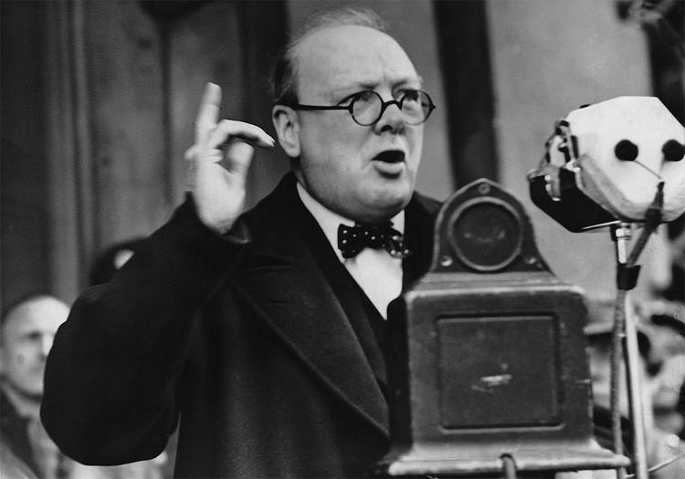 Уинстон Черчилль в 1939 году.
