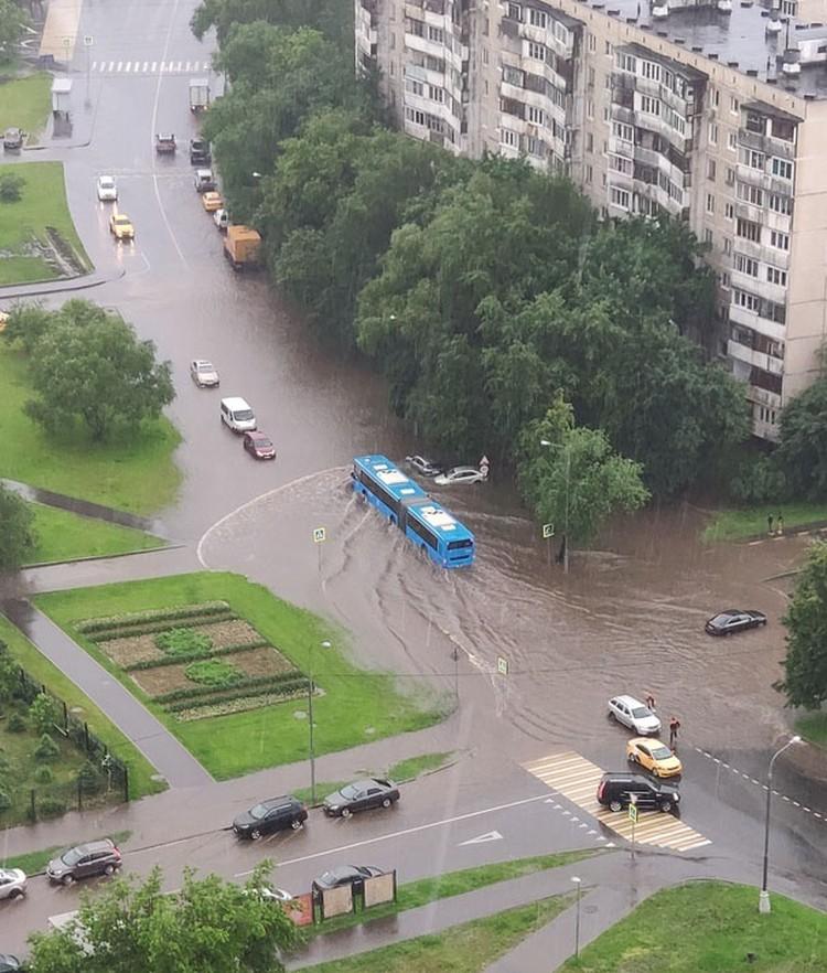 Кадр сделан в Бирюлево.