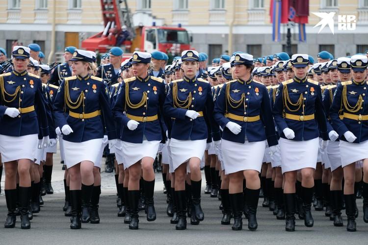 Сводная репетиция со всеми участниками Парада Победы состоялась 20 июня.