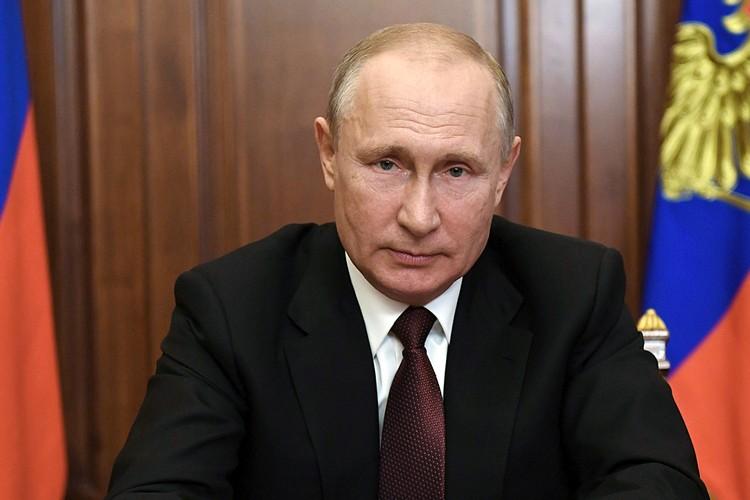 Президент в обращении к россиянам подвел черту под эпохой коронавируса. Фото: Алексей Никольский/ТАСС