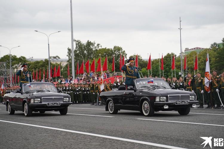 Командующий Парадом Павел Олексюк