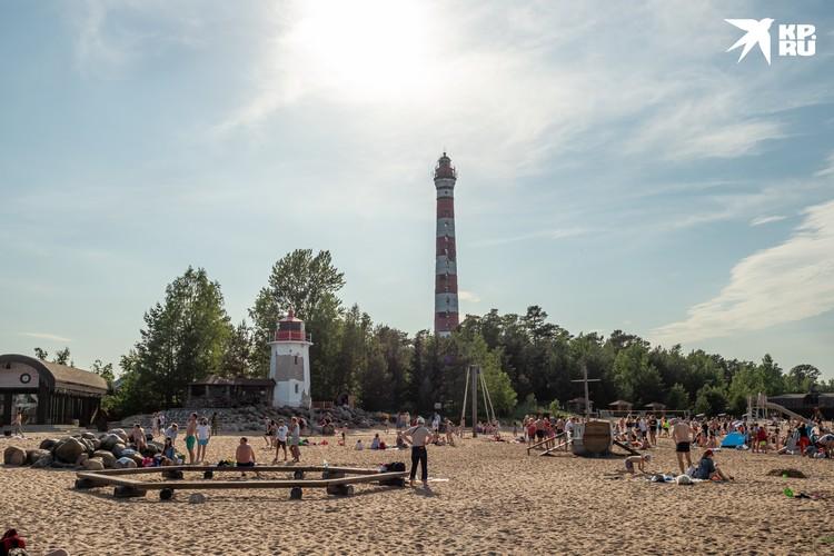 На Ладожском озере можно отлично провести летний отпуск.