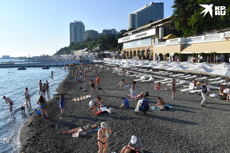 На курорты Крыма и Краснодарского края легко можно добраться из Петербурга.