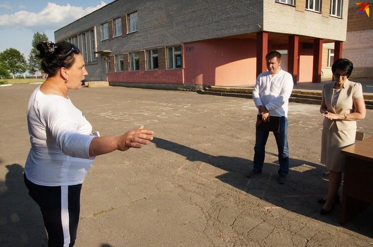 Елена Карасевич смело выступила перед начальством