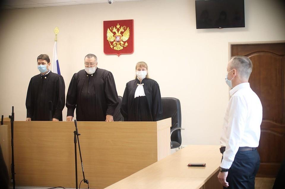 Судья приговорил учителя к 9.5 годам строгого режима. Фото: Василий Вахрин