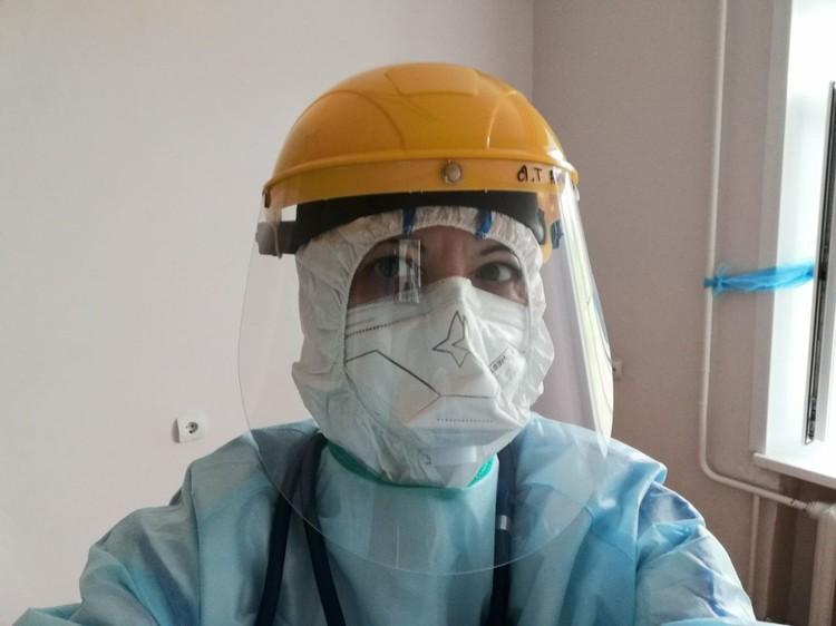 Татьяна трудится на передовой борьбы с коронавирусом