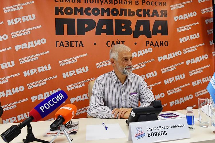 Трендсеттер и учредитель премии «Золотая маска» Эдуард Бояков
