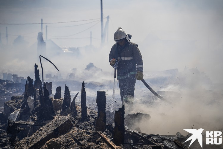 Вместе с домом сгорели все вещи и документы семьи