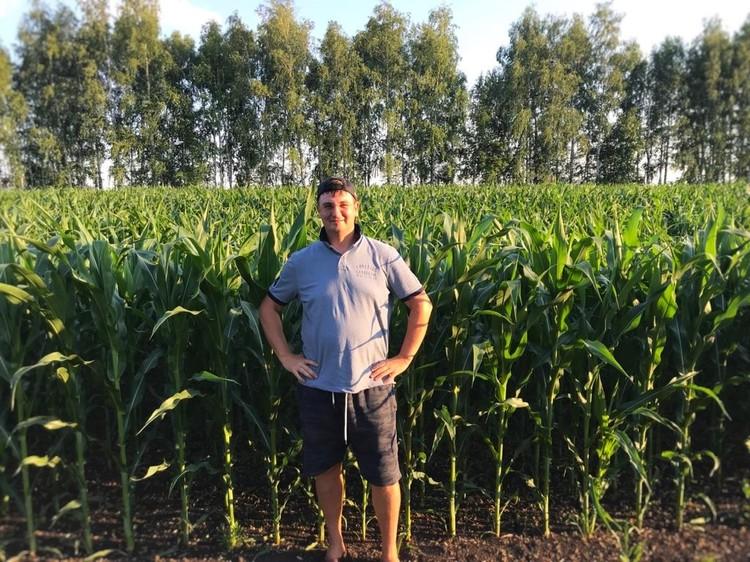 По кукурузе хозяйство земледельца получает лучшую урожайность в области. Фото: АО «Россельхозбанк»
