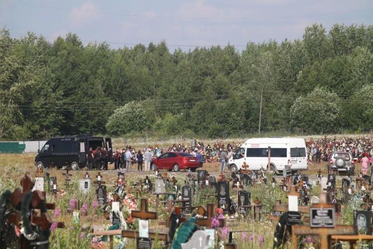 Ирину похоронили в Березниках