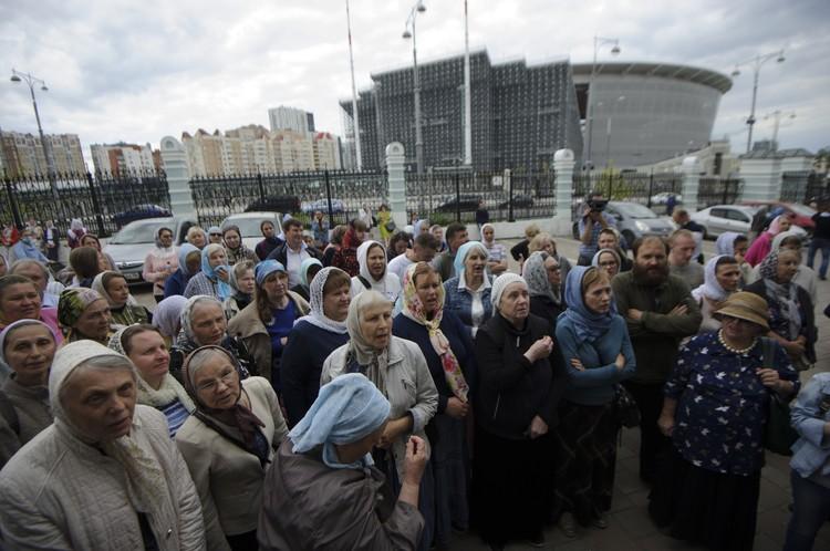 Сторонники схимонаха заявили, что не оставят своего духовного отца, не смотря на лишение церковного сана