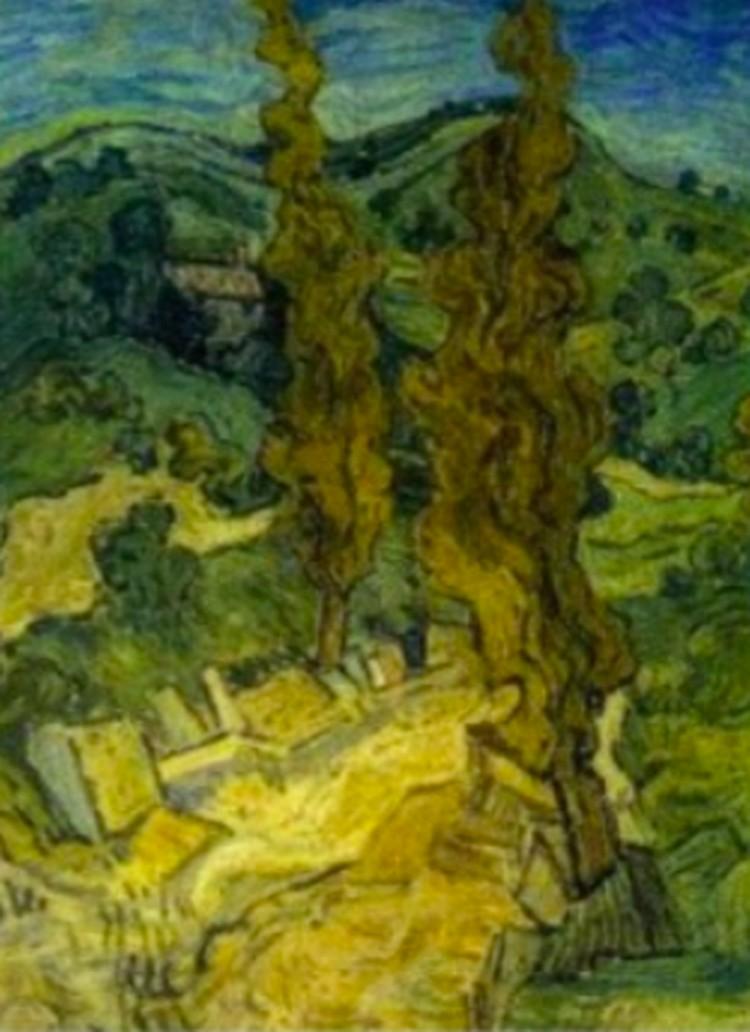 Картина из коллекци Отто Вакера из музея в Осаке