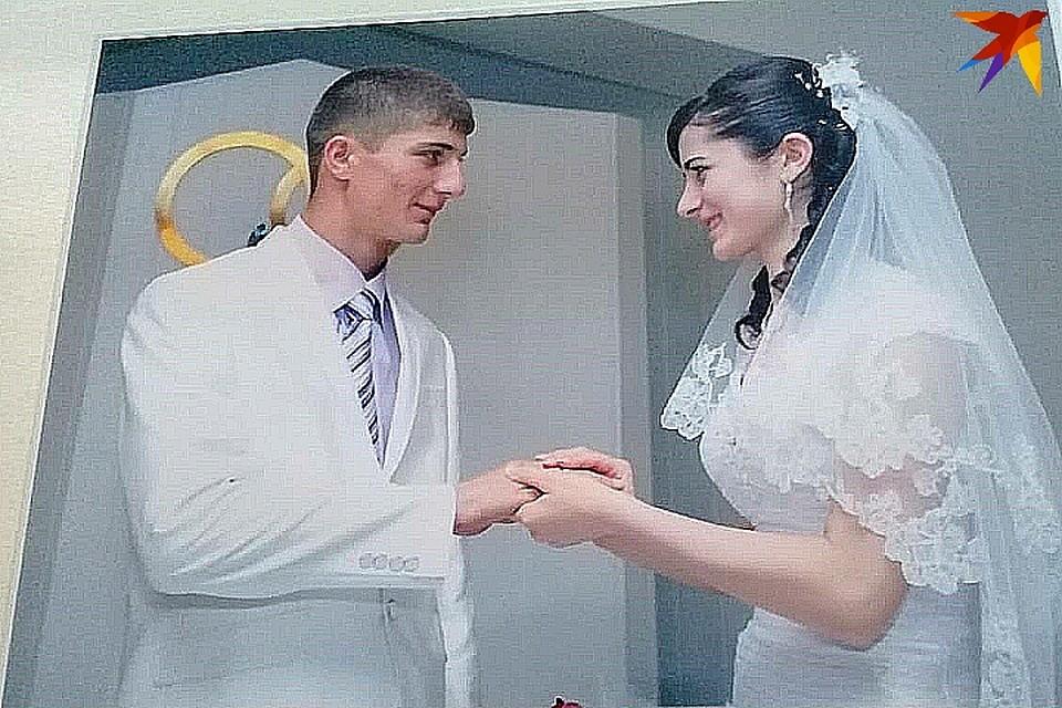 Свадебное фото супругов Батыровых