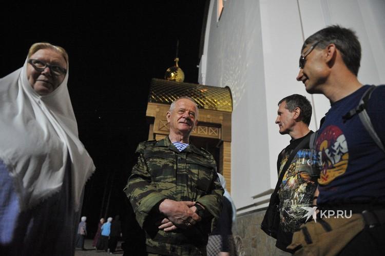 в Екатеринбург специально на службу прилетел полковник ГРУ в отставке Владимир Квачков.