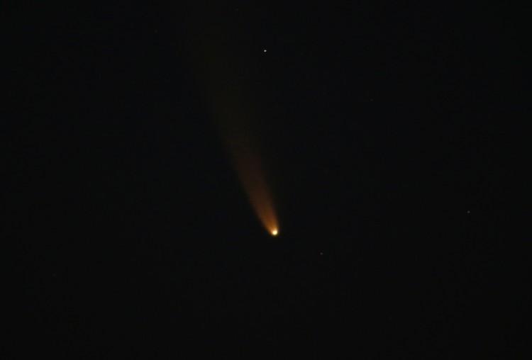 "Комета C / 2020 или ""Neowise"" видна с острова Мальта"