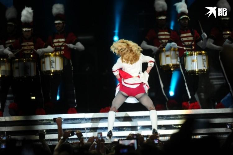 Поведение Мадонны вызвало скандал