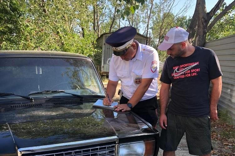 Трюкача поймали полицейские и выписали ему два штрафа.
