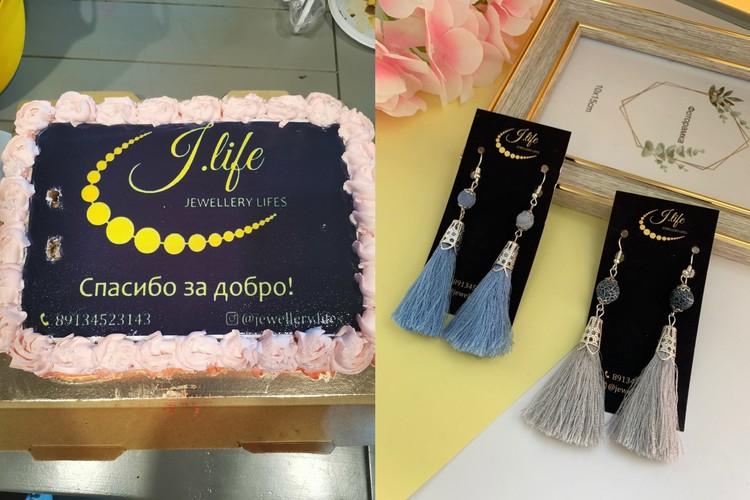 У сибирячки теперь свой бренд, под которым она выпускает самодельные украшения. Фото: Алена ЛЮБИМОВА/соцсети.