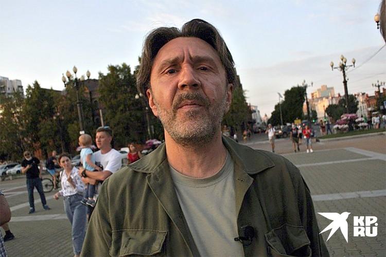 Сергей Шнуров в Хабаровске.