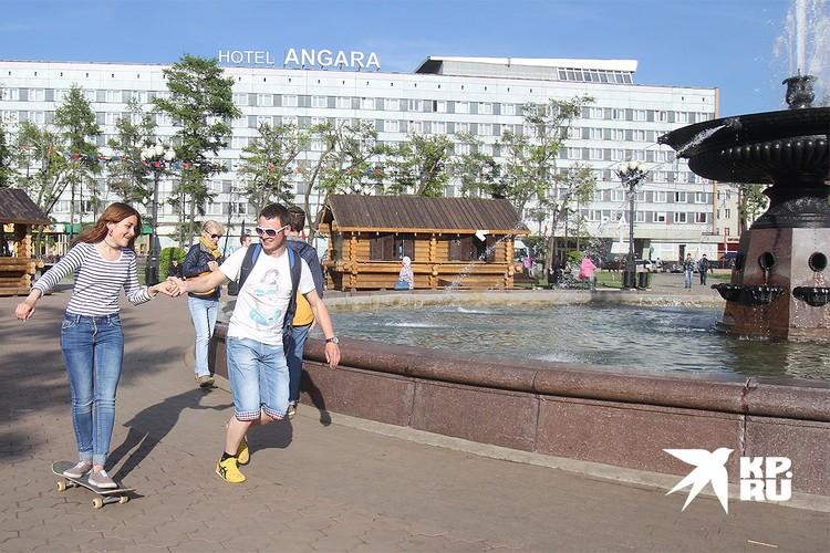 Иркутск занимает лидирующие позиции по числу парикмахерских и фитнес-клубов на душу населения.