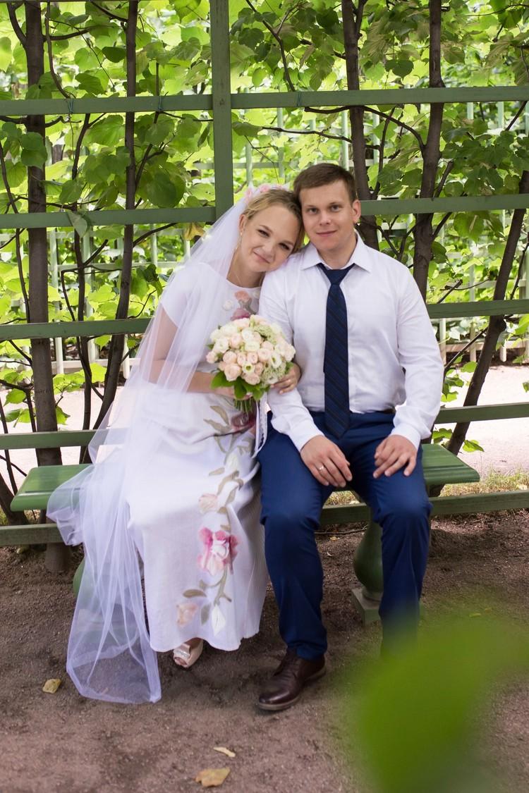 Пара в браке была два года