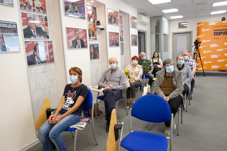 Лекция прошла в рамках проекта «Школа здорового питания для старшего возраста»