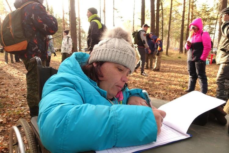 Светлана мечтает сама выезжать на поиски людей. Фото: Василий КОВАЛЬ