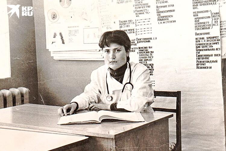 Татьяна Михайловна во время учебы в Пермском государственном медицинском институте. Фото: предоставлено героем публикации