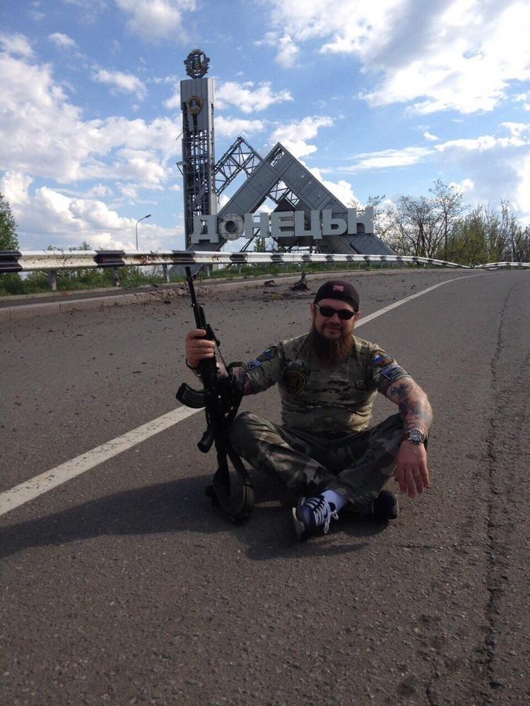 """ЧВК """"Мар"""" создавалась в основном для работы на территории Украины. Фото: из личного архива Алексея Марущенко"""