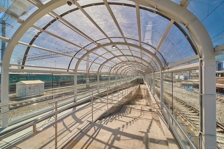 На станции Челябинск построен пешеходный тоннель для пассажиров пригородного комплекса. Фото: пресс-служба ЮУЖД.