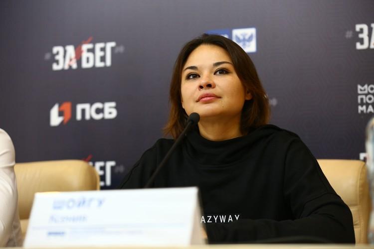 Ксения Шойгу, руководитель проекта «Лига героев»