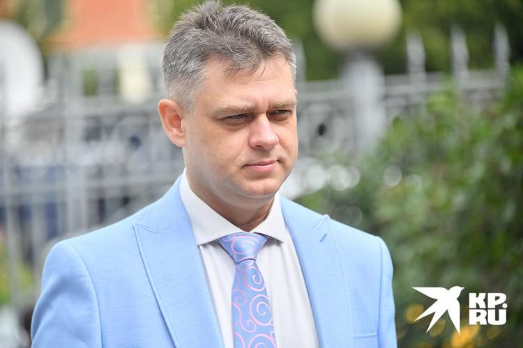 Адвокат Ангелины Хачатурян Алексей Паршин.