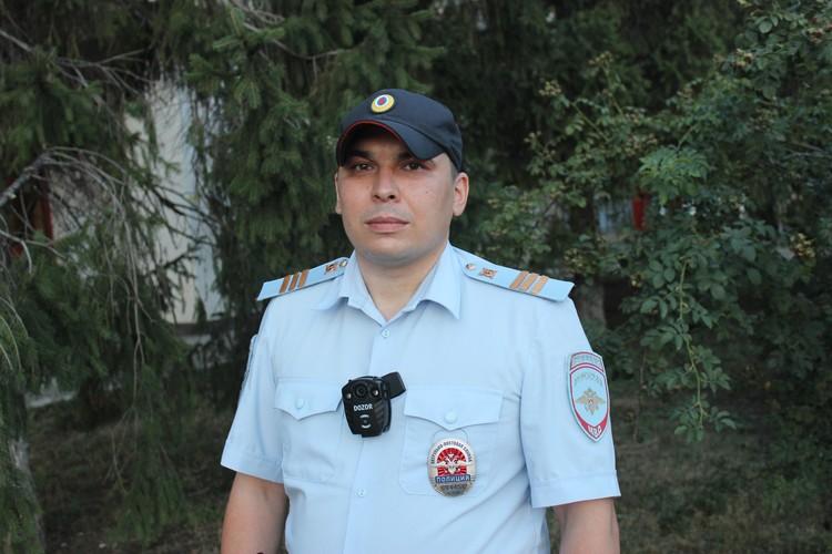 Рустам Шакуров в полиции служит с 2017 года