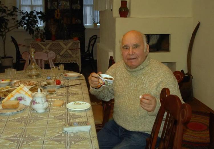 Василий Песков в шолоховском музее в станице Вешенской. Фото Сергея Жданова.