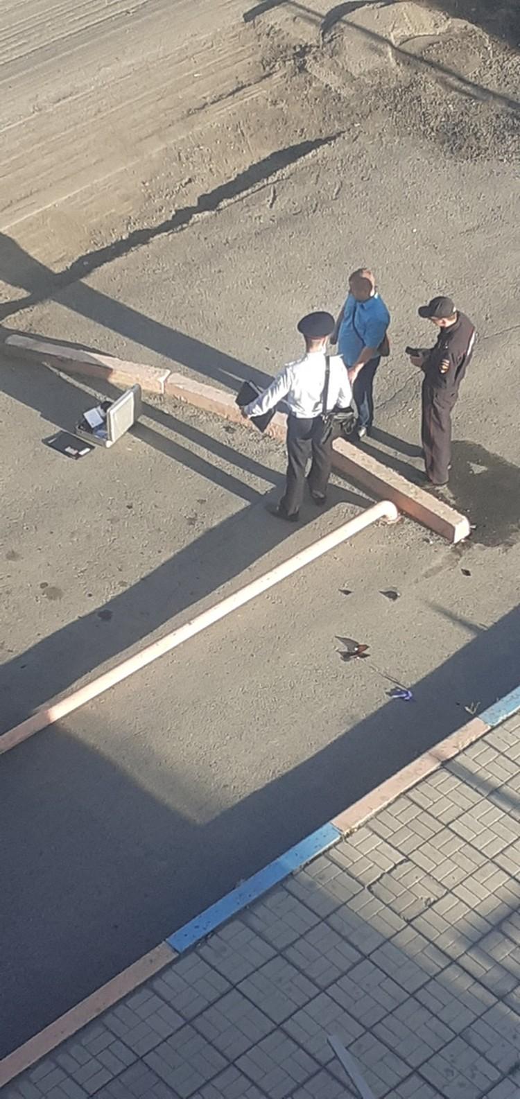 По гильзам пробили данные стрелка. Фото, видео: Подслушано в Ачинске.
