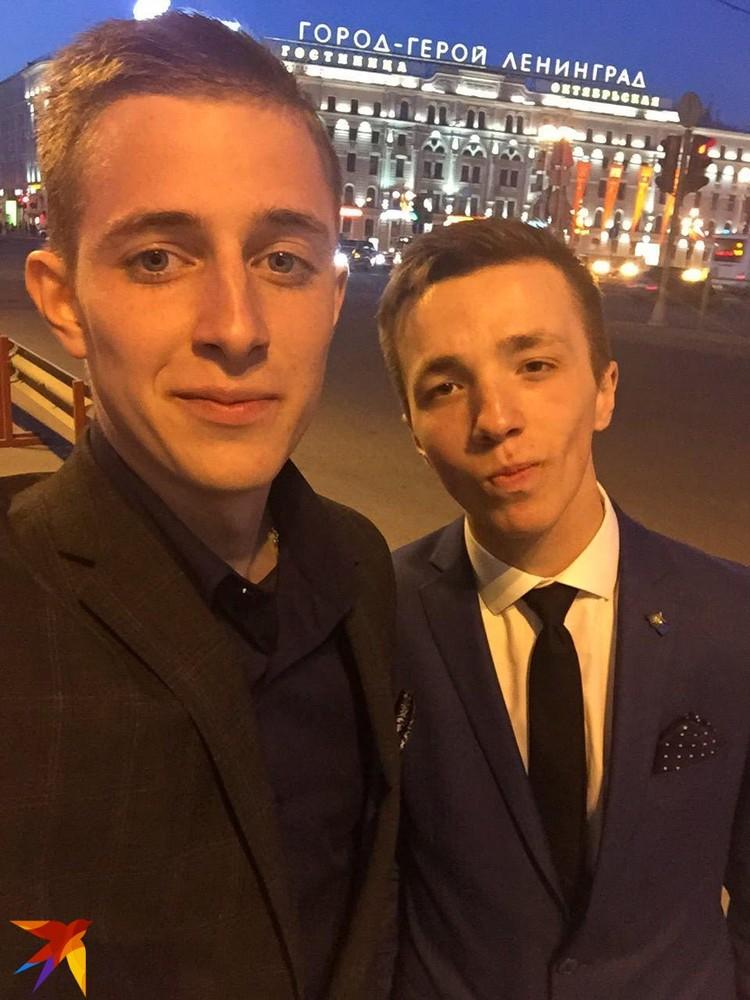 Максим и Тимур в Петербурге. Фото: предоставлено героем публикации