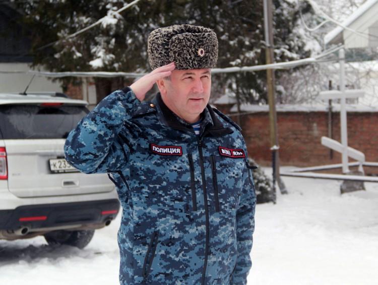 Боевой генерал Владимир Алай. Фото: УМВД по Республике Адыгея.