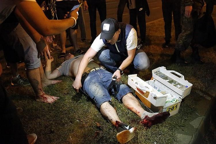 В протестах есть и пострадавшие. Фото: ЕРА/ТАСС