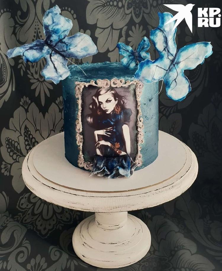 Торт для стилиста. Фото: предоставлено Наталией ВЕРТЕ.