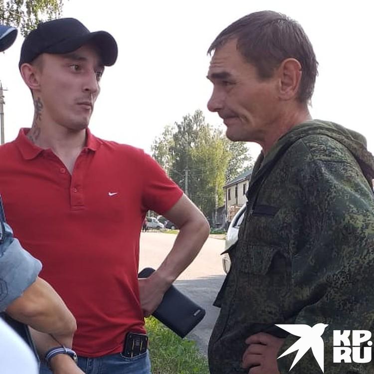 Олег рад, что его забрали домой. Фото: личный архив.