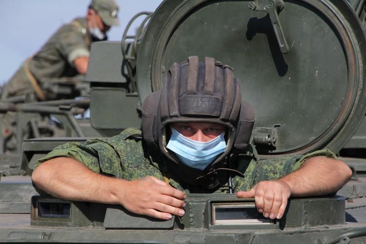 В Республике прошли сборы специалистов зенитно-ракетных комплексов «Стрела-10»