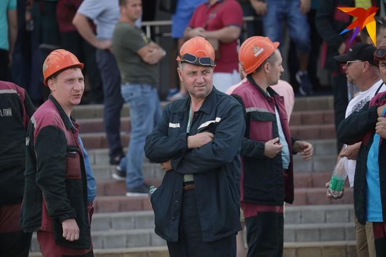 "На ""Беларуськалии"" забастовка."