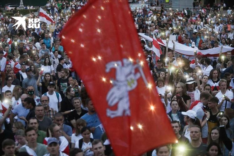 В Белоруссии вторую неделю продолжаются протесты
