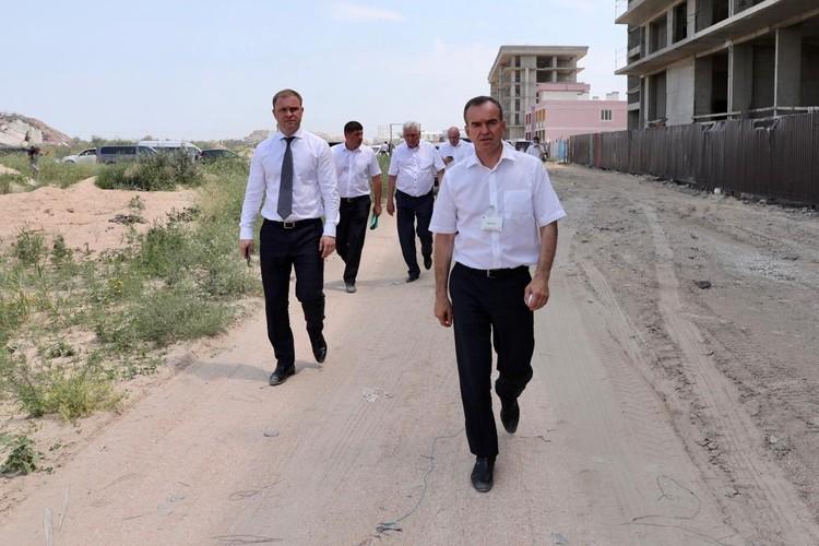 Вениамин Кондратьев заявил: Краснодарский край должен стремиться к званию круглогодичного курорта и его прибрежные зоны должны выглядеть как комфортные рекреационные территории