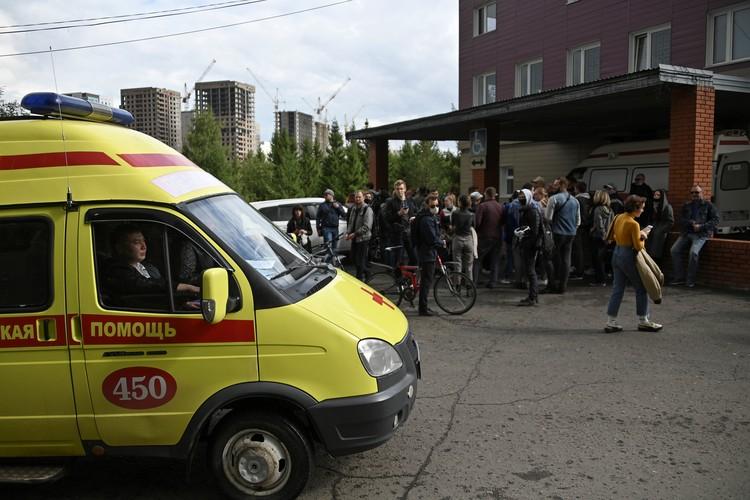 Омская больница, где находится Алексей Навальный